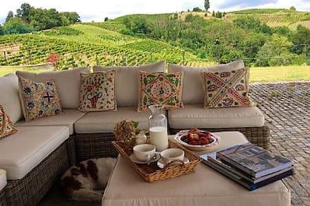 Splendida casa colonica Monferrato - Castel Rocchero