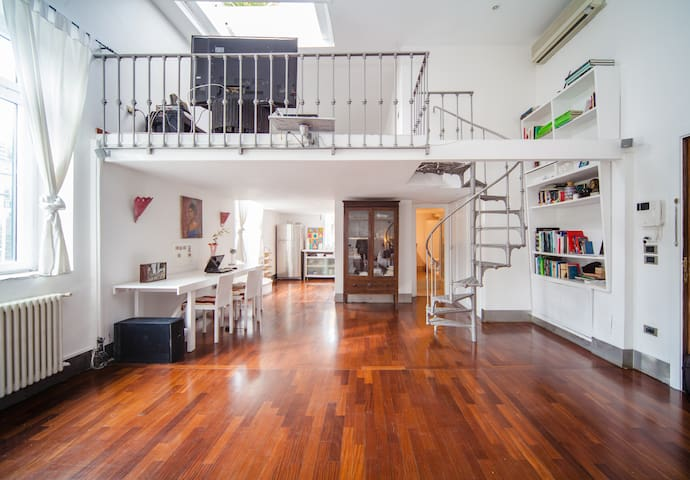 Terraced  Penthouse Napoli