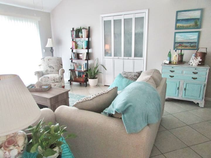 The Brighton - A marsh front, pet friendly condo