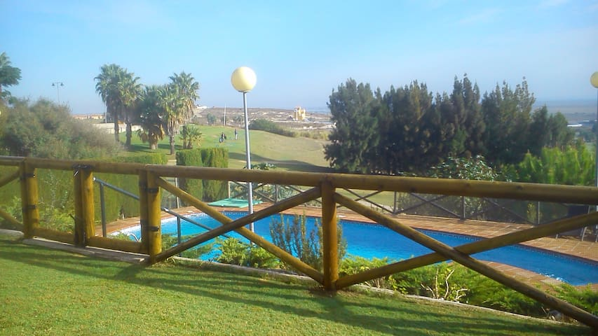 Sanlucar golf holiday villa + pool - Sanlúcar de Barrameda - Villa