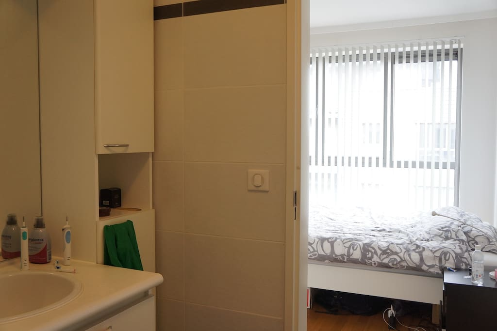 I could not upload the vertical photo with a view to the cupboard, bath tube and washing machine.
