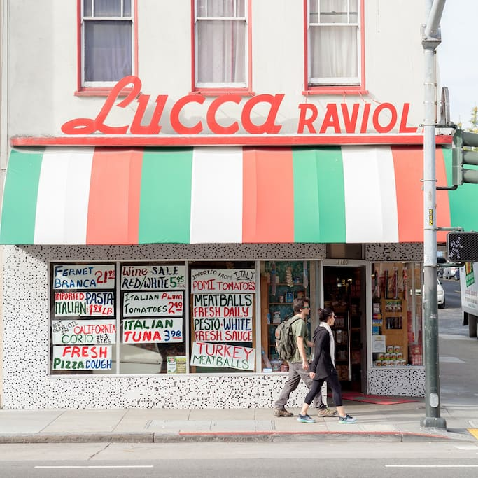 Photo of Lucca Ravioli Company in Mission District