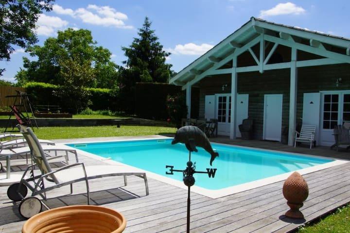 la maison des voyages, proche de Saint Emilion - Saint-Aubin-de-Branne - Vindsvåning