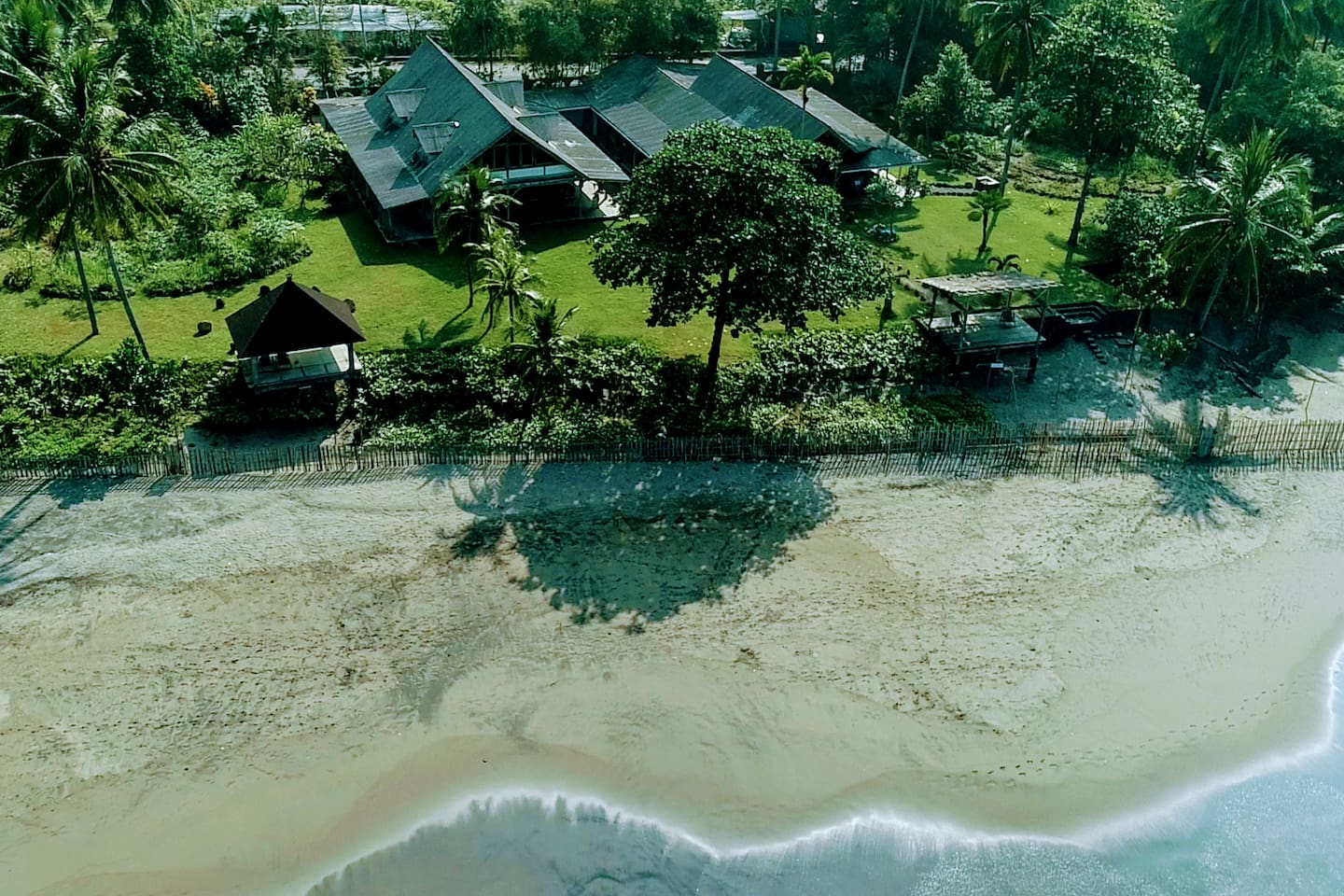 Located on a sandy Beach with easy access by gate