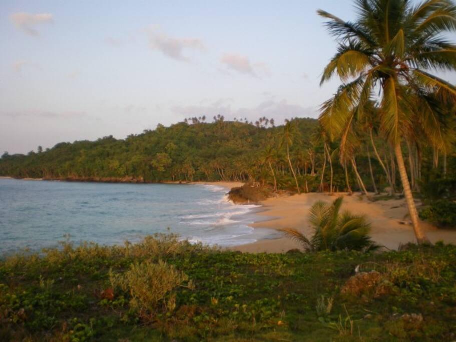 Deux plages semi privées parmi les plus belles de la République Dominicaine à vos pieds