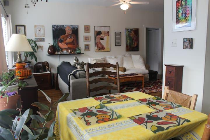 Cozy apartment in wonderful location - Houston - Apartment