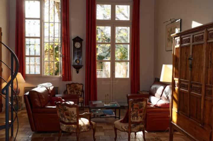 Superbe Duplex, Jardin, Coeur d Aix