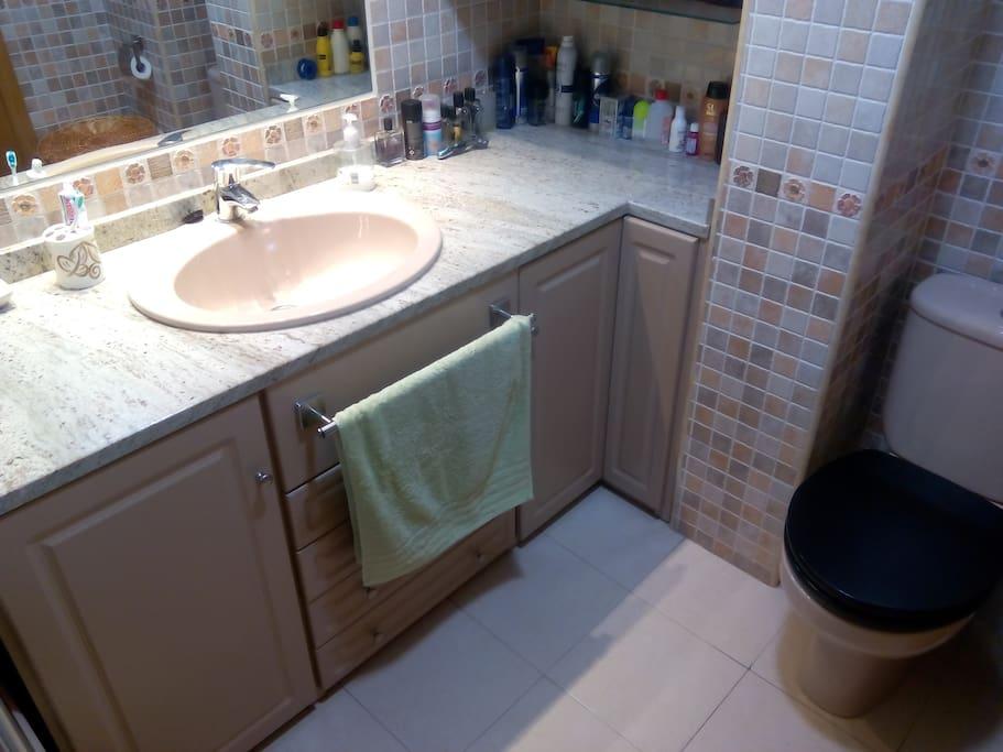Cuarto baño privado