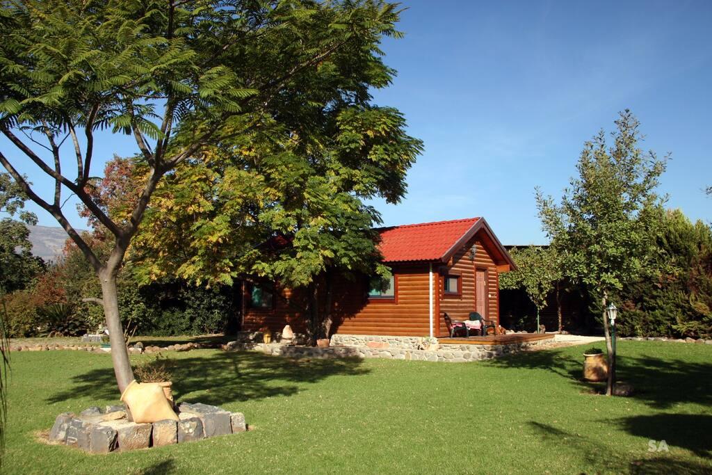 Topaz Hut Exterior