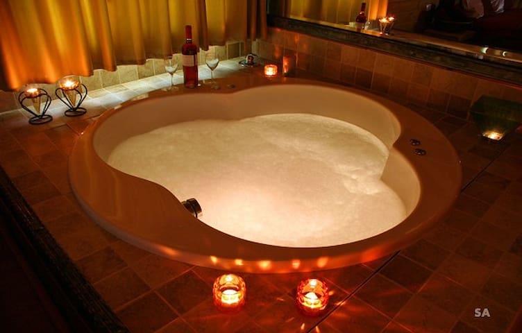 Romantic Hot Tub