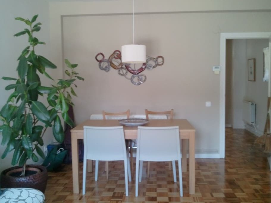 Amplia sala con zona comedor