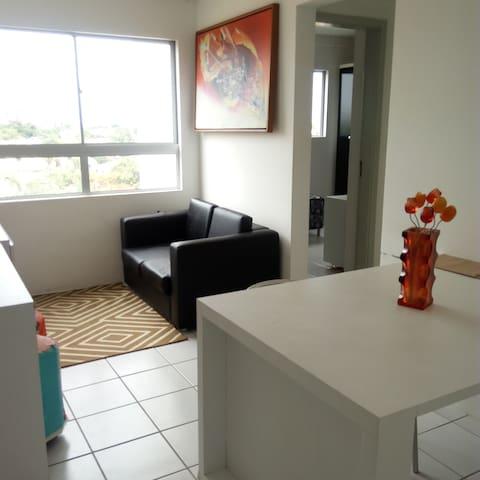 Apartamento mobiliado para alugar temporada/ anual - Paulista - Flat