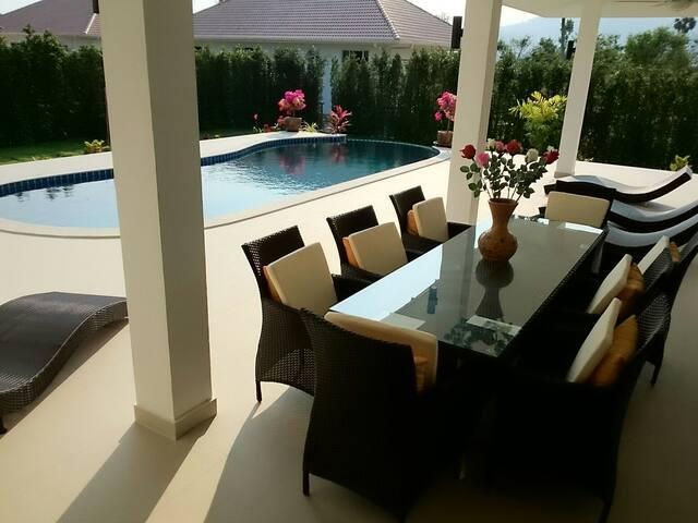 Villas Sala Thai 270m2 #2, pool & private bedroom - NaMueang, Ko Samui - Villa