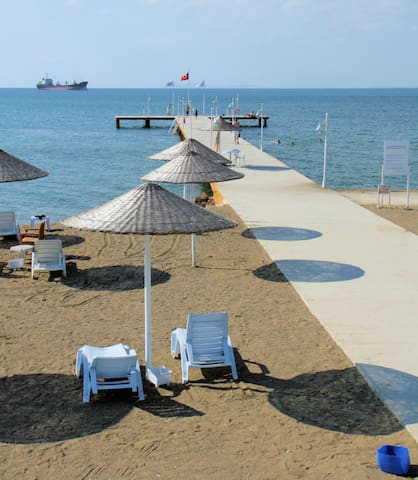 Holiday flat with a great sea view - Yalova - Apartmen