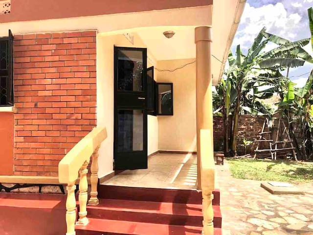 Spacious 2 bedroom gated house in Muyenga, Kampala