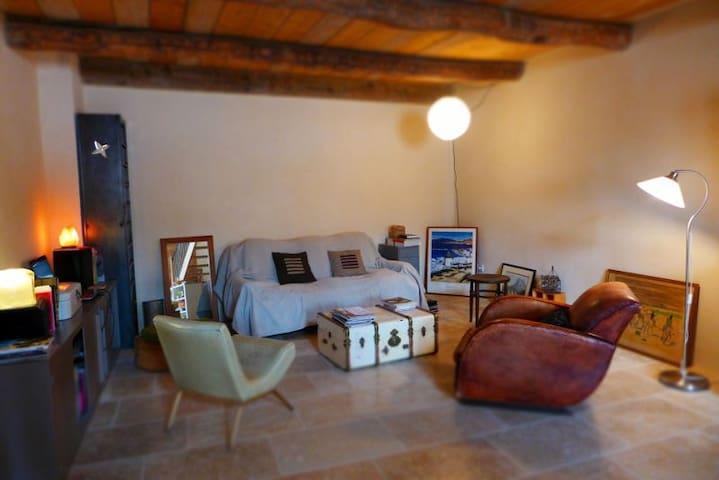 Maison de village en Provence - Estoublon - Rumah