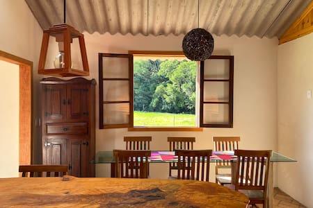 Casa fazenda nas montanhas de Cunha.....com Wi-Fi!
