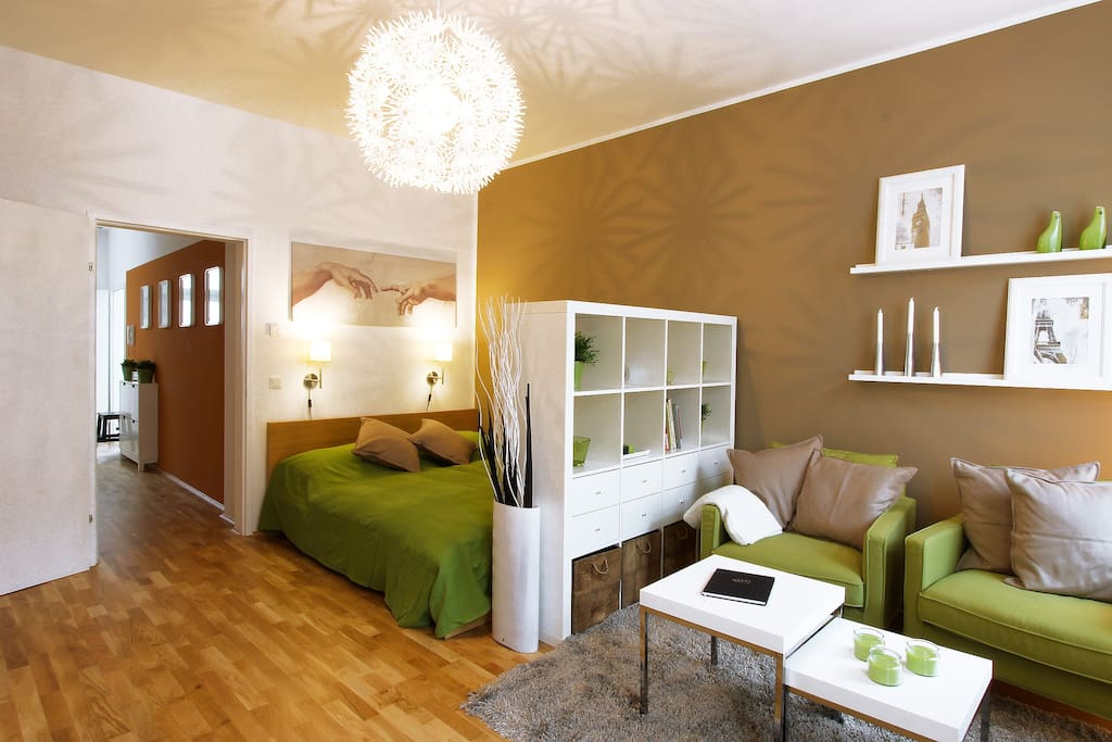 ku35 augarten city studio 35m2 apartments for rent in wien wien austria. Black Bedroom Furniture Sets. Home Design Ideas