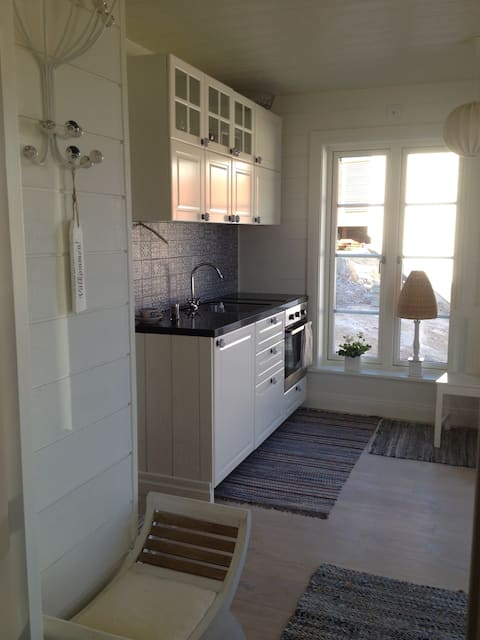 Egen lägenhet i nytt skärgårdshus