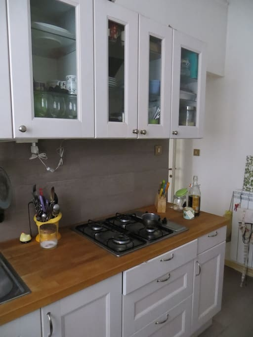 The kitchen... feel free to use it if you wish