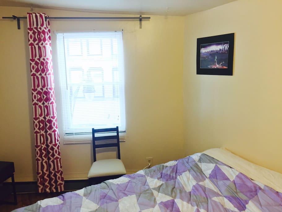 Big Bright Master Bedroom