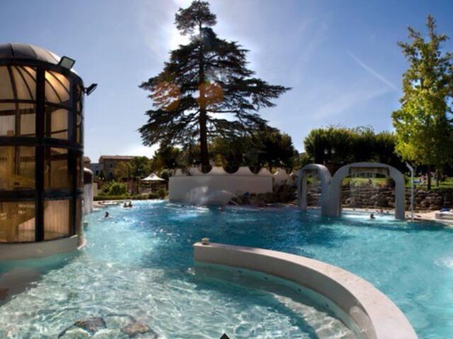 Spa Resort Terraced Apartment - Casciana Terme - Apartamento