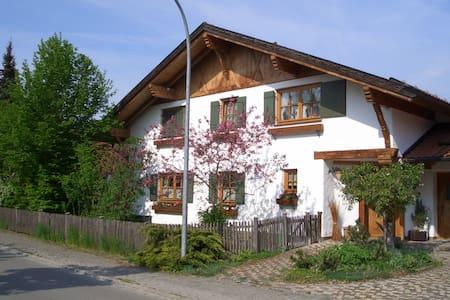 Natur und Kultur im schönen Allgäu - Marktoberdorf - Apartamento