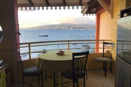 Cannelle Mitan T2 Superbe vue mer et plage à 3 mn