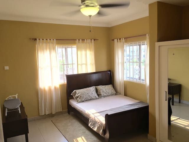 Guest room with queen bed, fitted closet, etc. Sleeps 2.