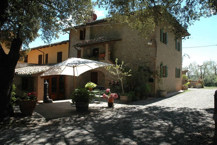Country Apartment in Chianti