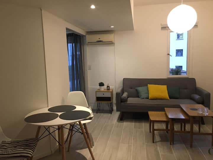 Bright apartment in best zone 24h-security!!