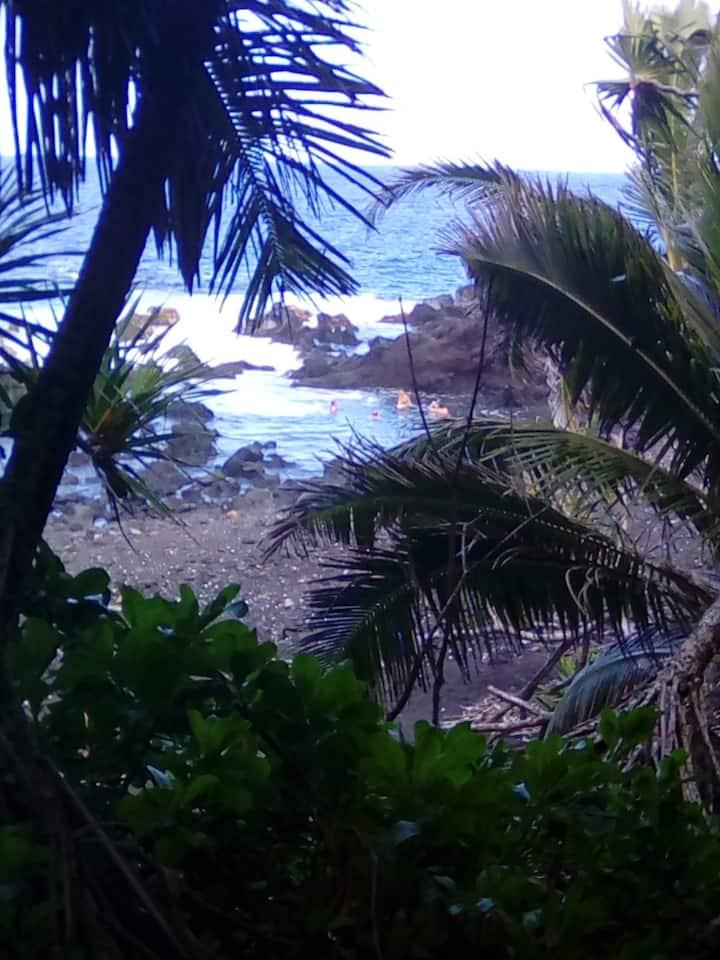 5miles down coast from New lava beach park