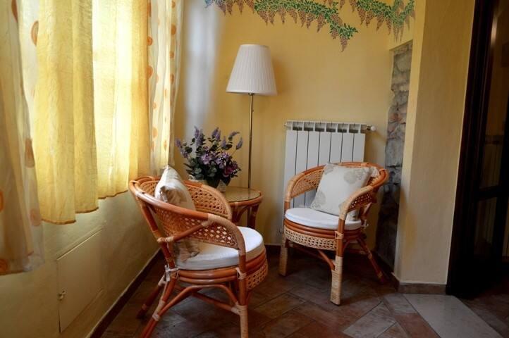 """""""Il Glicine"""" casa in campagna toscana"""