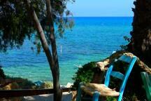 sirena bay beach (4 mins walk)