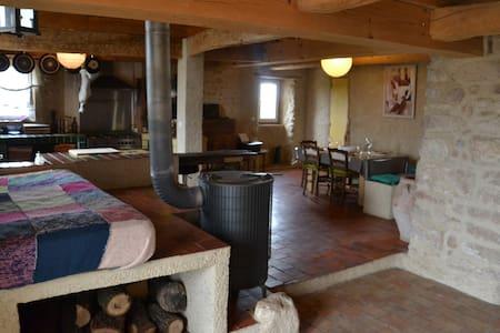 Duplex 200m2 dans corps de ferme - Roumoules