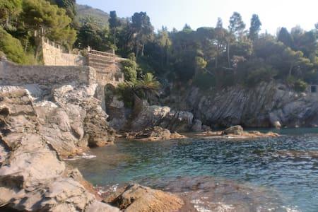 Villetta Azzurra con accesso privato al mare - Bogliasco