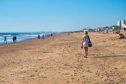Isla cristina mesto a pláž