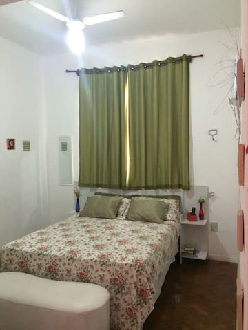 Chambre confortable à Flamengo
