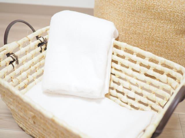 Clean Japanese luxury towel