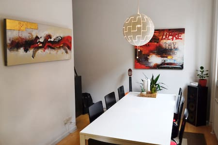 Cosy apartment in the city centre - Odense - Apartamento