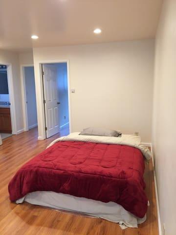 Shared room three: nice, quiet, new