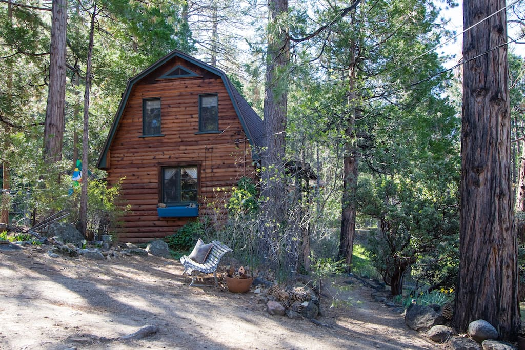 Unique Log Cabin For Two In Idyllwild Ca Houten Huisje