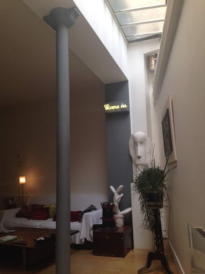 Charming loft in the Marais