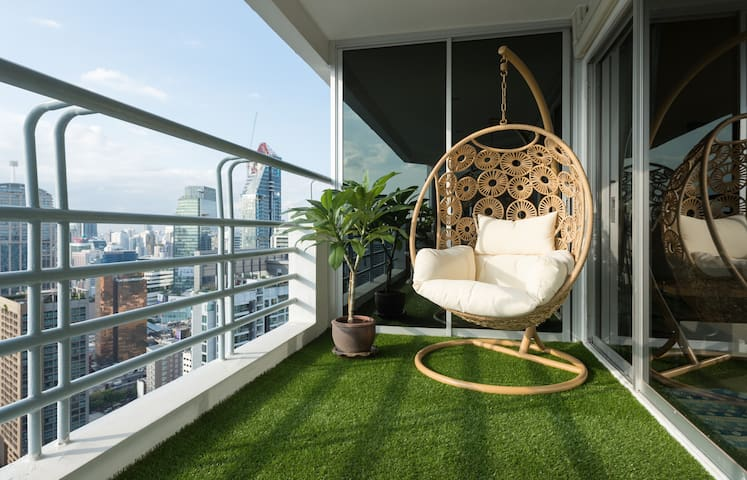 Fantastic New Room, close to BTS, Amazing Views! - Bangkok - Condominium