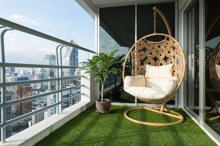 Fantastic New Room, close to BTS, Amazing Views! - Bangkok