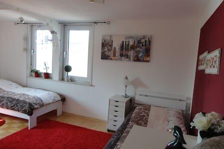 Komfortables Zi, 11 Min bis Messe - แฟรงก์เฟิร์ต - บ้าน