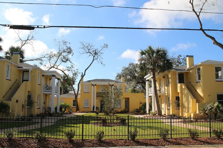 C1 Flagler location in city center with balcony!