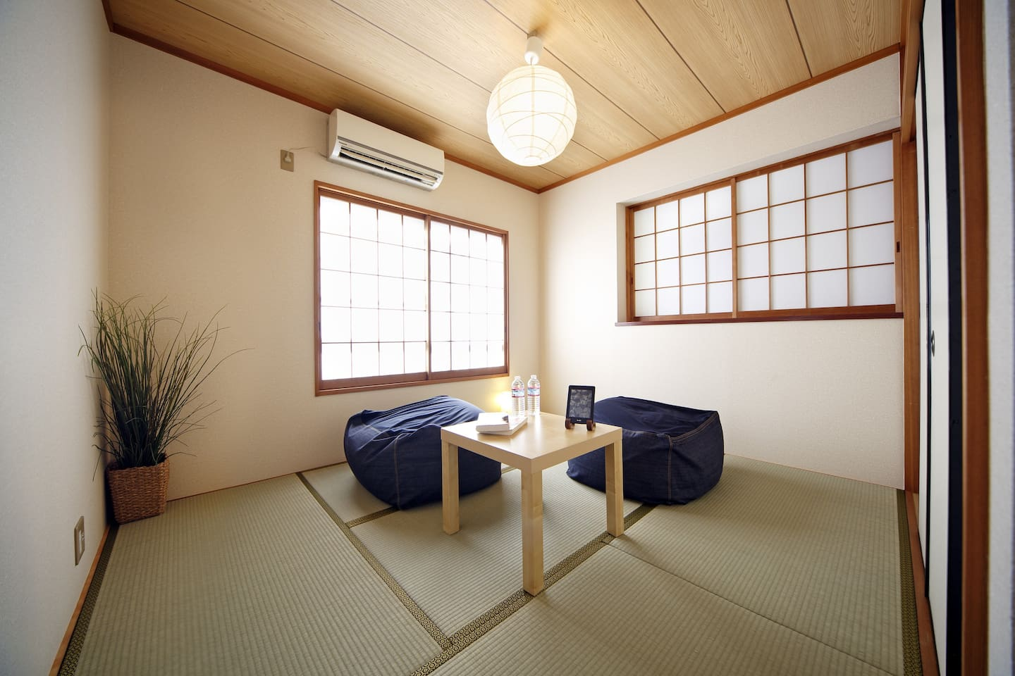 Traditional Japanese Bed-Room with Pocket Coil Mattress