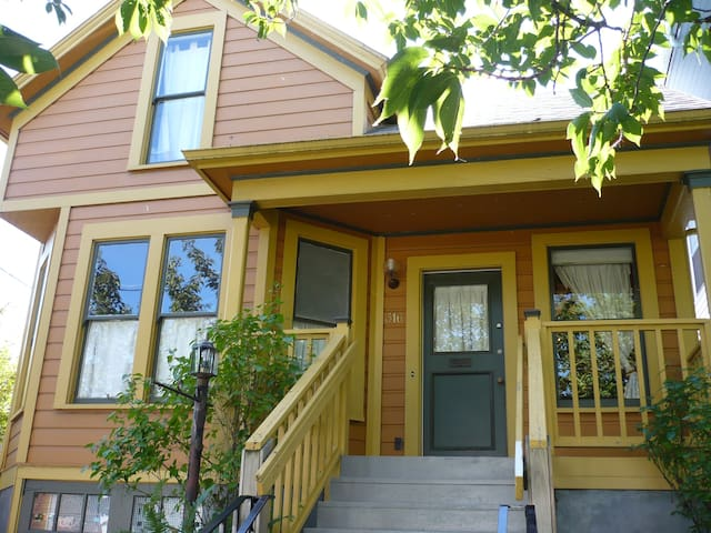 NE Portland Oregon Modern Victorian Duplex