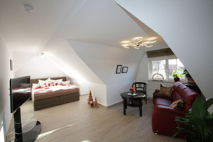 Stilvolles Apartment am Kunsthaus Nordhausen - Nordhausen - Apartment